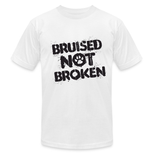 A Bruised Past Men's Tee (White) - Men's Fine Jersey T-Shirt