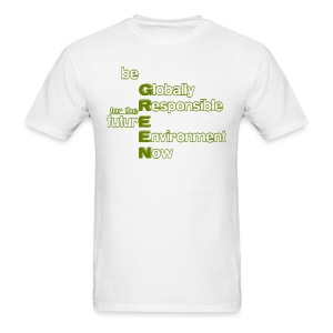 be GREEN - Men's T-Shirt