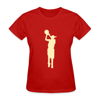 Women basketball T-shirt