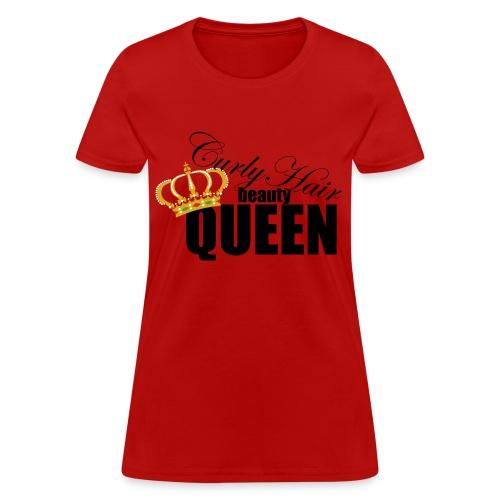 Curly Hair Queen - Women's T-Shirt
