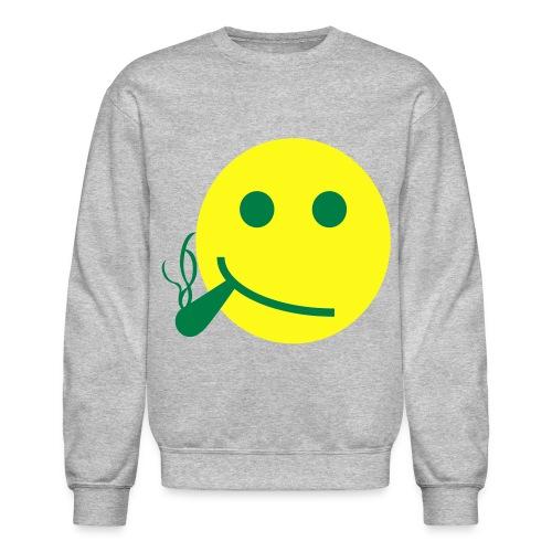 smile smoke - Crewneck Sweatshirt