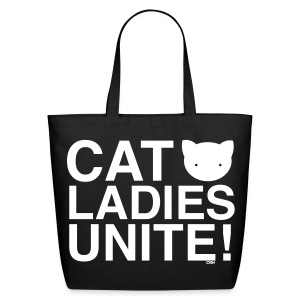 Cat Ladies Unite! - Eco-Friendly Cotton Tote