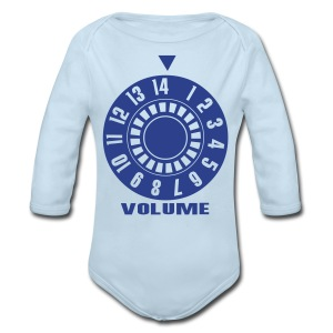 BFM Baby Volume - Long Sleeve Baby Bodysuit