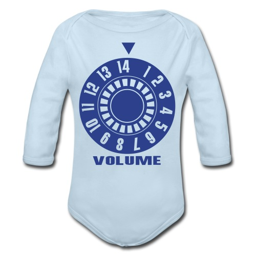 BFM Baby Volume - Organic Long Sleeve Baby Bodysuit