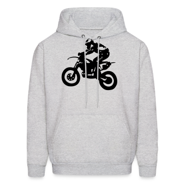 Motocross driver motorbike machine race Hoodies
