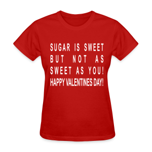 Happy Valentines Day - Women's T-Shirt