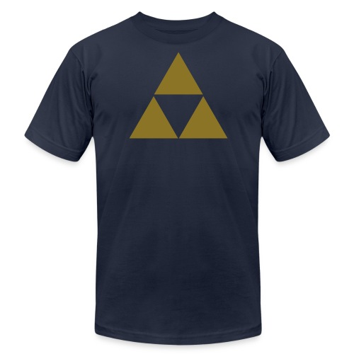 Men's Fitted Triforce - Men's Fine Jersey T-Shirt