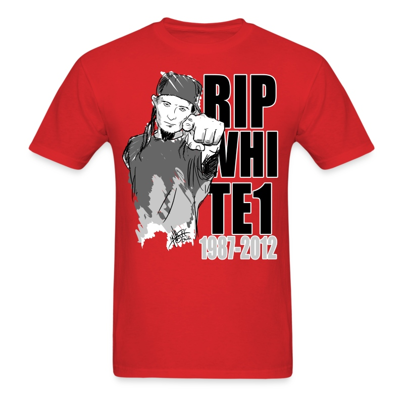 R.I.P. WIll Bowen aka Loki aka White One of Psycho Killaz - Men's T-Shirt