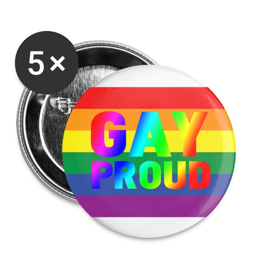 Gay proud - Large Buttons