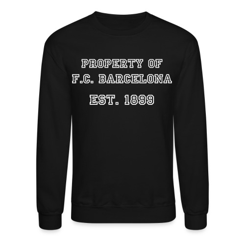 Property Of FC Barcelona - Crewneck Sweatshirt