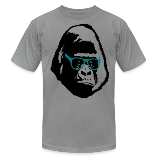 GORILLA GLASSES - Men's Fine Jersey T-Shirt