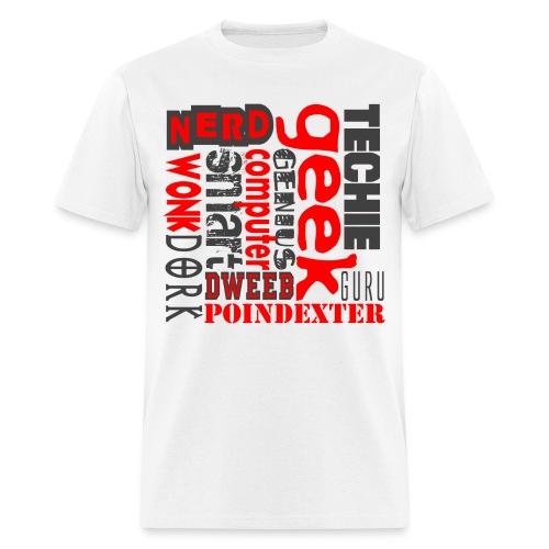 GEEK - Men's T-Shirt
