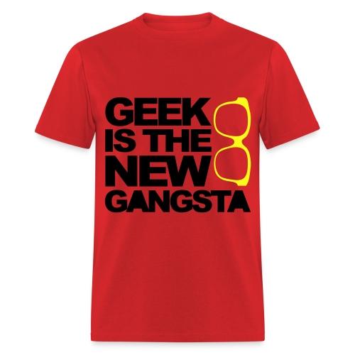 GANSTA GEEK - Men's T-Shirt