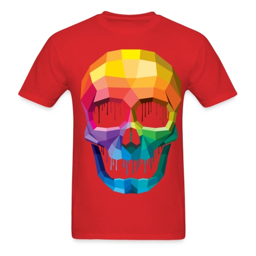 COLOR SKULL - Men's T-Shirt