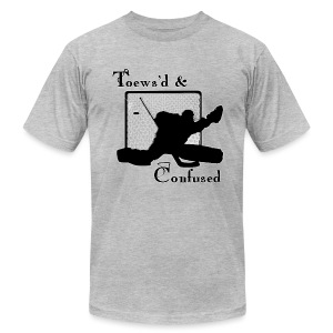 Toews'd & Confused - Men's T-Shirt by American Apparel