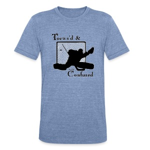 Toews'd & Confused - Unisex Tri-Blend T-Shirt by American Apparel
