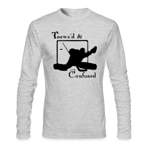 Toews'd & Confused - Men's Long Sleeve T-Shirt by Next Level