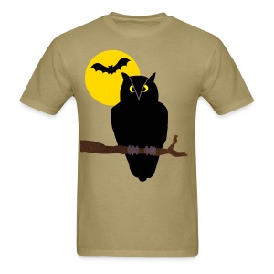 Haunted Owl - Men's T-Shirt