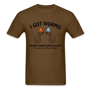 I Got Worms - Men's T-Shirt