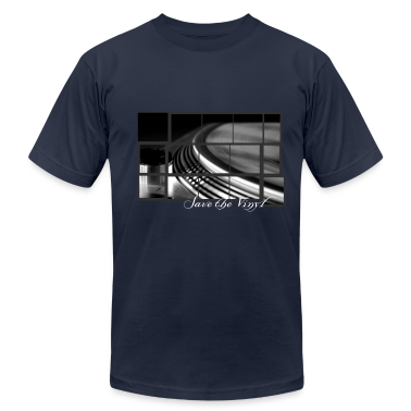 Save the vinyl record turntable for DJs and Lovers Artwork T-Shirts