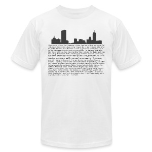 I am Boston - Men's T-Shirt by American Apparel