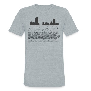 I am Boston - Unisex Tri-Blend T-Shirt by American Apparel