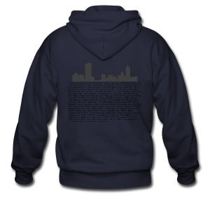 I am Boston - Men's Zip Hoodie