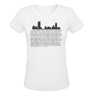 I am Boston - Women's V-Neck T-Shirt