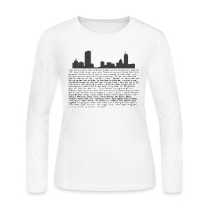 I am Boston - Women's Long Sleeve Jersey T-Shirt