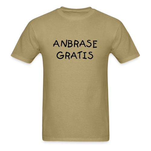 FREE HUGS / ANBRASE GRATIS - Men's T-Shirt