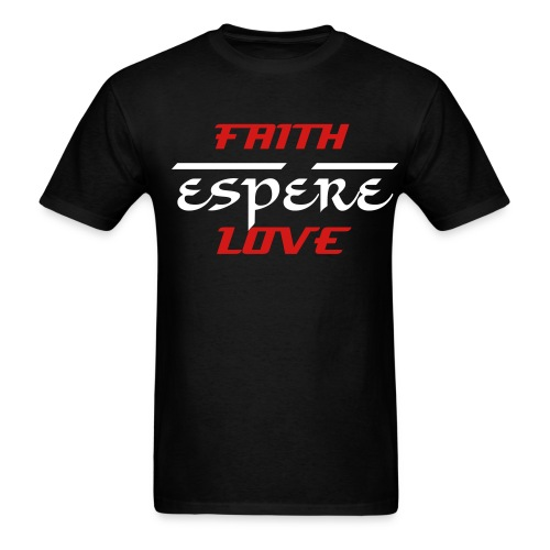 Regular T - Faith Espére/hope love - Men's T-Shirt