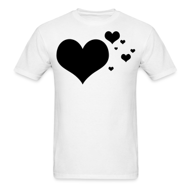 Flying Hearts Cloud T-Shirts