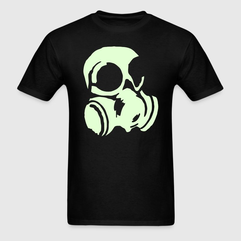 Soliders Chemical Warfare gas mask T-Shirts - Men's T-Shirt
