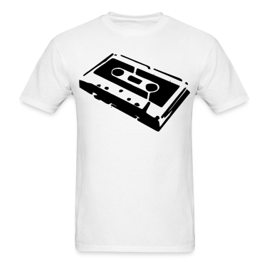 An audio cassette tape for those that love music mix tapes T-Shirts