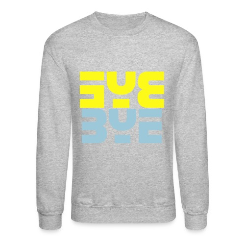 ByeX2 Men's Crew Neck - Crewneck Sweatshirt