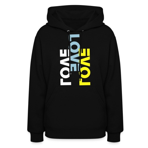 LoveX3 Women's Hooded Sweatshirt - Women's Hoodie