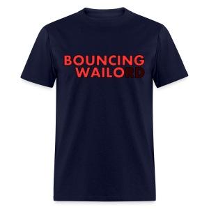 Bouncing Wailord Neon Sign - Men's T-Shirt