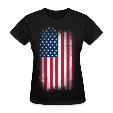 US Flag Women's T-Shirts