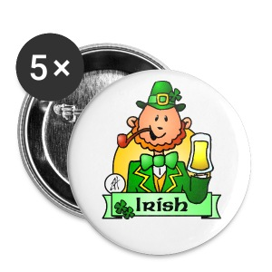 St. Patrick's Day - Large Buttons