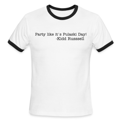 Pulaski Day  - Men's Ringer T-Shirt