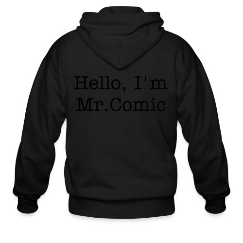 Mr.Comic Hood - Men's Zip Hoodie