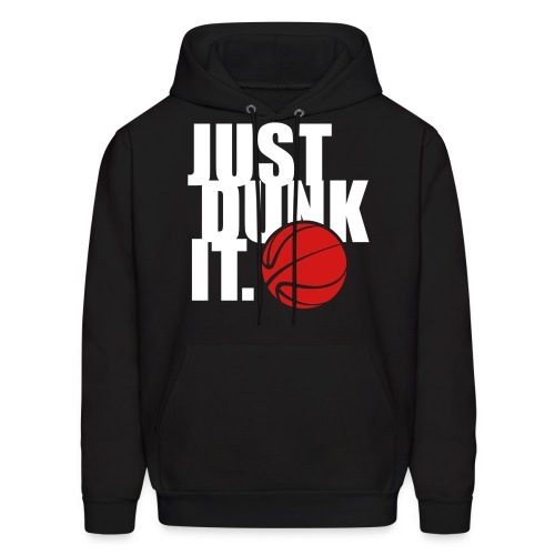 Just Dunk It Black - Men's Hoodie