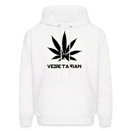 Vegetarian Weed - Men's Hoodie