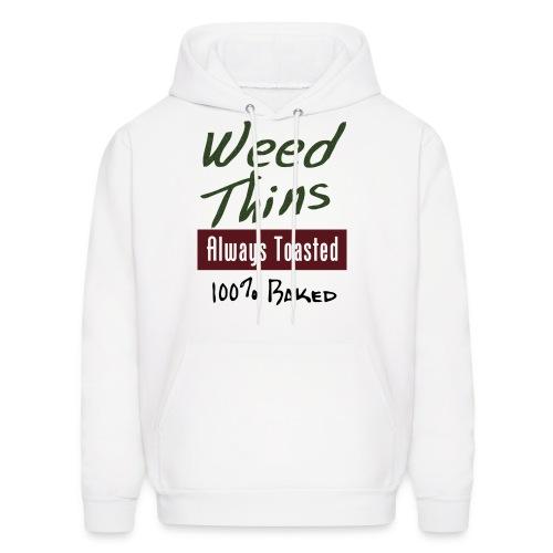 Weed Thins - Men's Hoodie