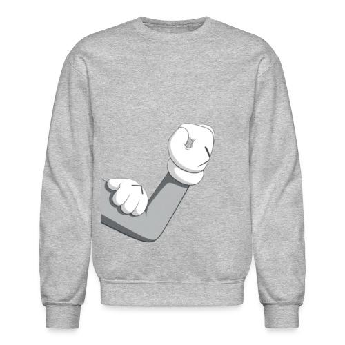 mickey arm - Crewneck Sweatshirt