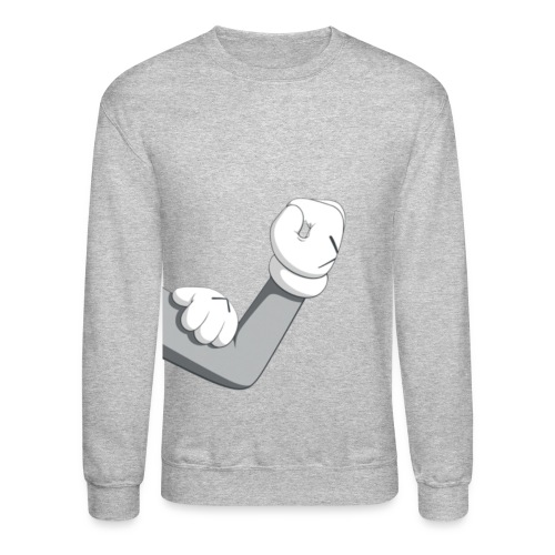mickey arm - Crewneck Sweatshirt
