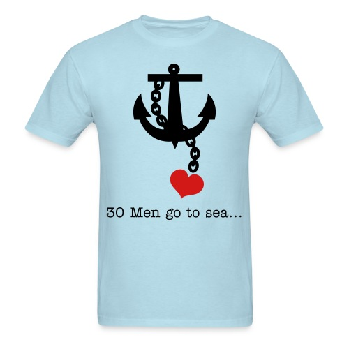 Sailor couples... - Men's T-Shirt