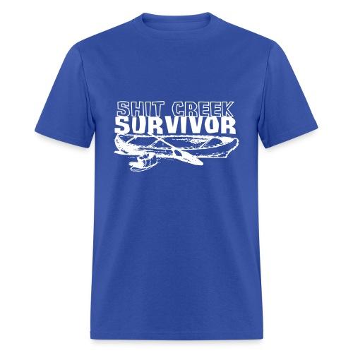 Shit Creek Survivor - Men's T-Shirt