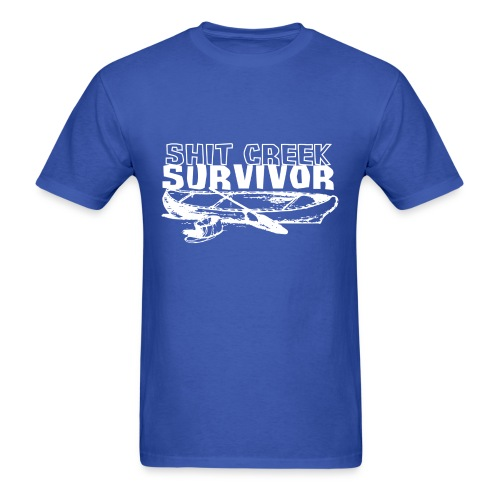 Shit Creek Survivor - Men's T-Shirt