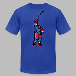 The Goal Scorer - Blades of Steel - Men's T-Shirt by American Apparel